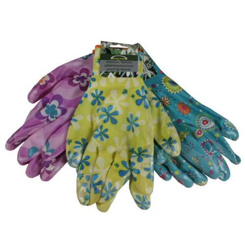 Rigger Handschuhe PU Flex Dame Gartenhandschuhe Arbeitshandschuhe