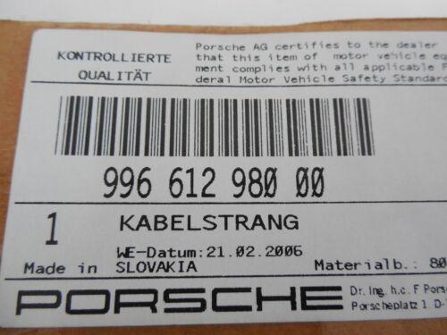 30/% NEU+ORIG Porsche 911 996 986 Boxster Kabelstrang Fussraumleuchte