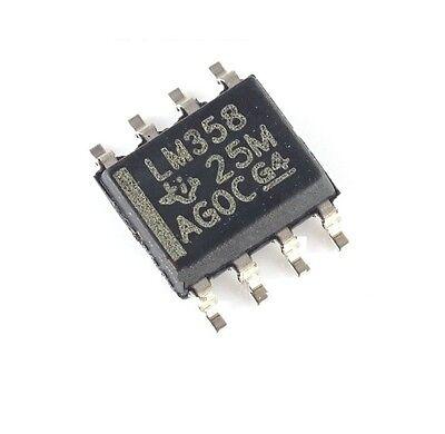 20PCS LM358 LM358N OPAMP DUAL 0-70DEG C 8-SOP NEW