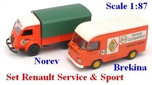 Set-Renault-Galion-amp-Saviem-SG2-034-Renault-034-Norev-amp-Brekina-Echelle-1-87