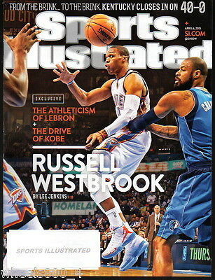 2015 Sports Illustrated Oklahoma City Thunder Russell Westbrook Subs. Issue NRM
