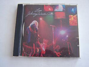 CD-DE-JOHNNY-WINTER-LIVE-8-TITRES-1971-BON-ETAT