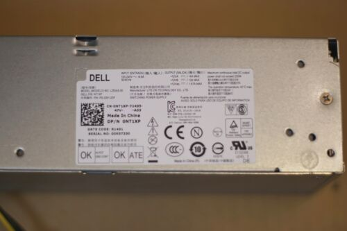Dell OptiPlex 3020 7020 9020 Precision T1700 SFF 255W 0NT1XP NT1XP Power Supply