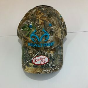Realtree-Womens-Baseball-Hat-Cap-Camouflage-Camo-Hat-Hunting-Embroidered-New-NWT