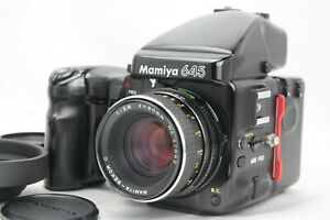 EXC-Mamiya-645-PRO-AE-Finder-con-Sekor-C-80mm-F2-8-120-tornate-dal-Giappone