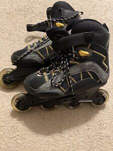 Bauer-Xtra-5-0-Inline-Roller-Blades-Skates-Women-039-s-Sz-US-8
