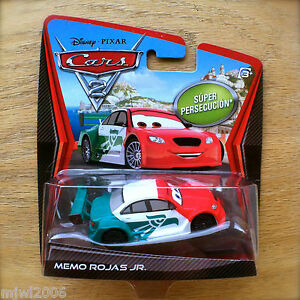 Disney Pixar Cars 2 Memo Rojas Jr Super Chase Diecast Ultimate Mexican Racer Ebay