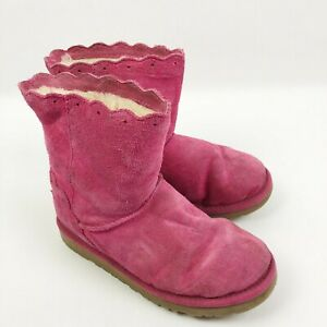 Fame Winter Boots Diva Pink Sheepskin