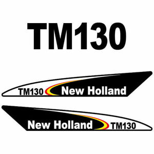 Heavy Equipment Attachments New Holland Tm130 Decal Kit Heavy Equipment, Parts & Attachments