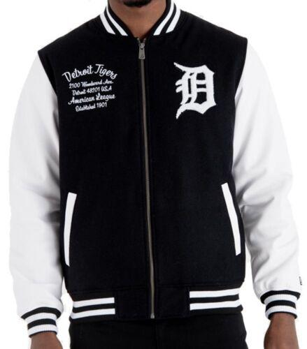 Laurea Mlb New Tigers Jacket Pack Varsity Detroit Post Era Black College HzzwqxRI4