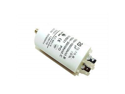 69UF 400-500V 4 TERMINALS INDUSTRIAL MACHINE PLASTIC ROUND RUN CAPACITOR 69µF