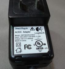 LOGITECH, AC/DC adapter/adaptor power supply 600mA 6vDC, 2 plugs-FREE SHIPPING-