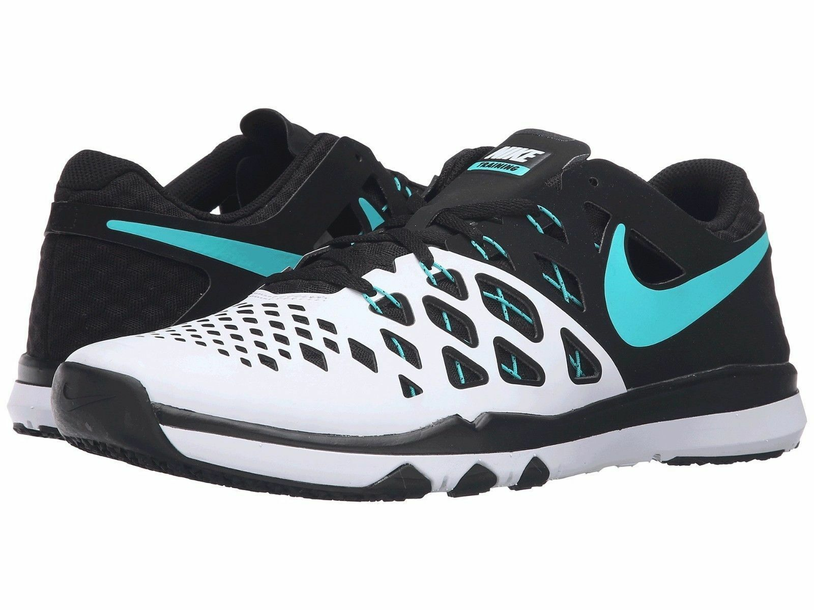 New Men's NIKE Men's New Train SPEED 843937-130 WHITE/HYPER-JADE/BLACK Sz 10 567d72