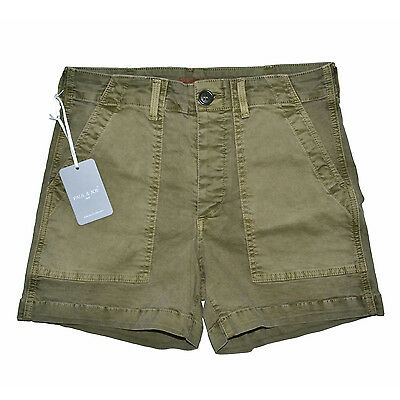 Vendita Economica Paul & Joe Mini Short Tiana Twill Stretch Kaki 25 26 27 28 29 Army Made In L.a. Lucentezza Luminosa