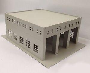 HO Scale 1:87 Outland Models Railway Layout Model Train Engine House 3 Stall
