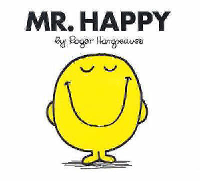 """""""AS NEW"""" Hargreaves, Roger, Mr. Happy (Mr. Men Library) Book"""