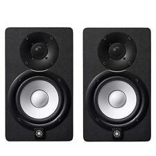 "Yamaha HS5 5"" Nearfield Bi-Amplified Active Studio Monitor Speaker Pair Black"