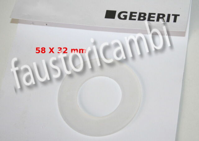 GEBERIT joint d'étanchéité CLOCHE ø 58X32 mm ART. 816179 POUR POT À FLEURS