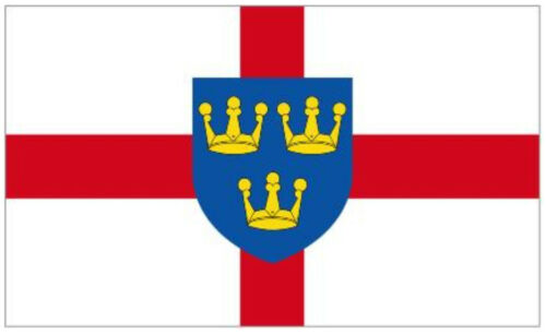 EAST ANGLIA FLAG 5FT X 3FT Another Quality Product from Klicnow