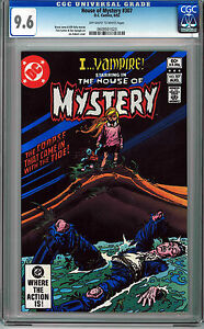 HOUSE OF MYSTERY #307 CGC 9.6 OFF-WHITE TO WHITE PAGES BRONZE AGE