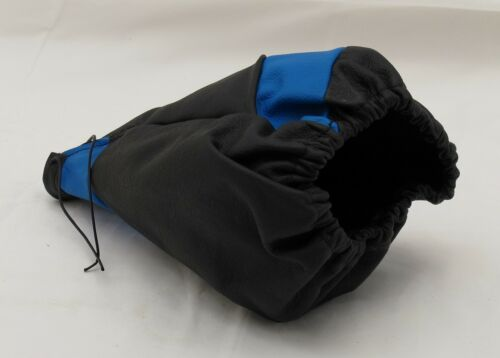 Tekniq Shift Boot MOD 11 NEW Black Blue Leather MADE IN ITALY Part# 580.00112