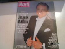 ** Paris Match n°3044 Jacques Martin / Fillon / Tchernobyl / Jenifer