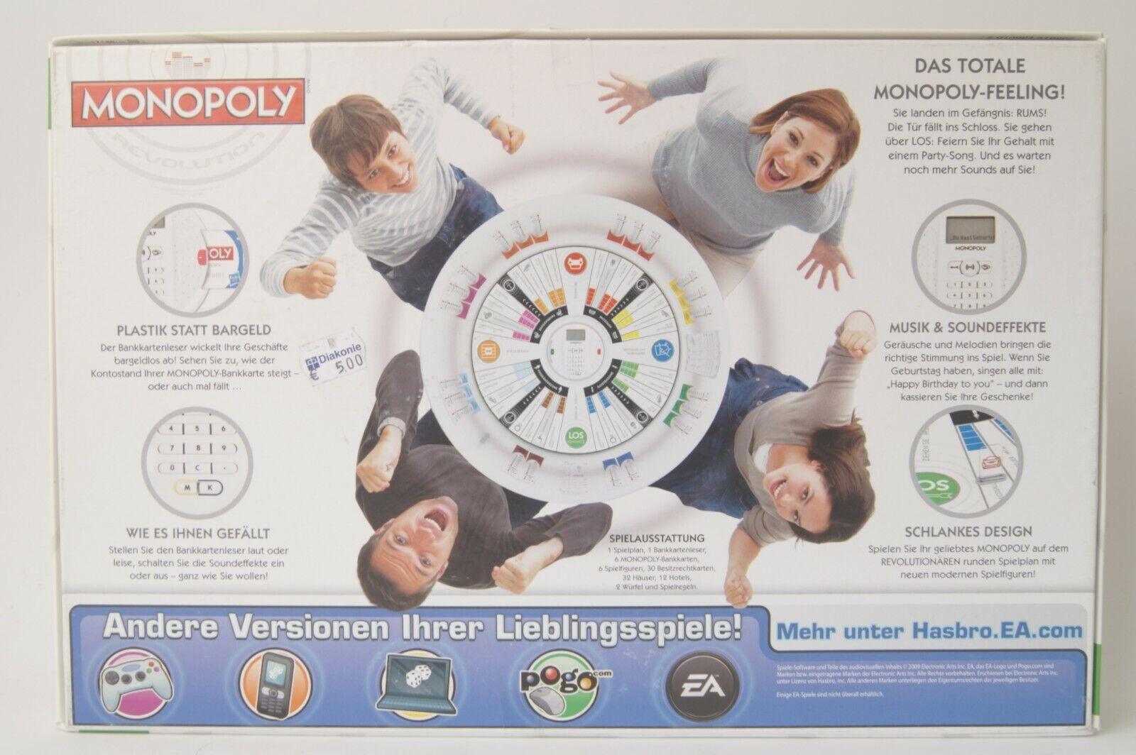Monopoly Revolution - Österreich-Ausgabe - Brettspiel von von von Hasbro - KOMPLETT 18b54b