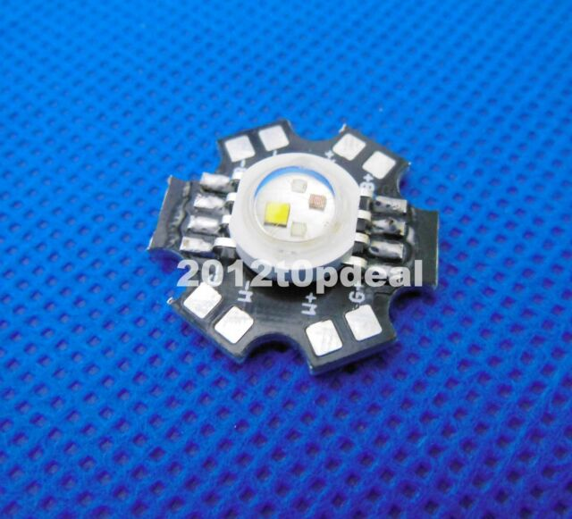 1pcs 4W RGBW High Power LED Light Beads Red Green Blue White Lamp W/ 20mm PCB