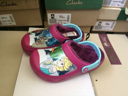 Crocband Crocs Lined Girls Zuecos Frozen Purple J1 Talla Pw5ZUvqSOx
