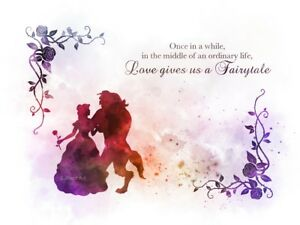 Free Printable Beauty The Beast Quotes