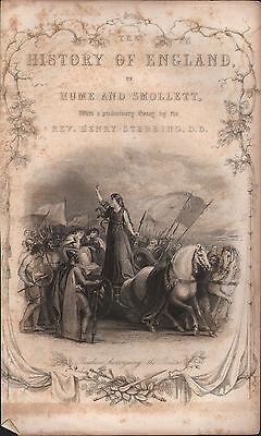 100% De Calidad C1830 Antiguo Estampado ~ Boadicea Haranguing The Britons~ Título Página