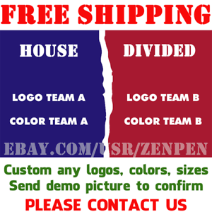 CUSTOM-FULL-ALL-32-NFL-TEAMS-House-Divided-Flag-Banner-3x5-ft-Pick-Your-Teams