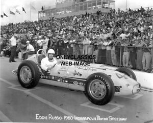 1960 INDY 500 DUANE CARTER OFFY RACER AUTO RACING PHOTO INDIANAPOLIS SPEEDWAY