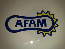 AUTOCOLLANT AFAM STICKERS MOTO KIT CHAINE STICKER