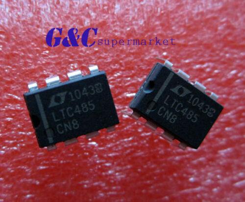 10PCS LTC485CN8 LT DIP8  Low Power RS485 Interface Transceiver NEW D7