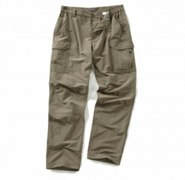 CRAGHOPPERS MENS NOSI-Life CARGO Lightweight Walking Trousers - Pebble