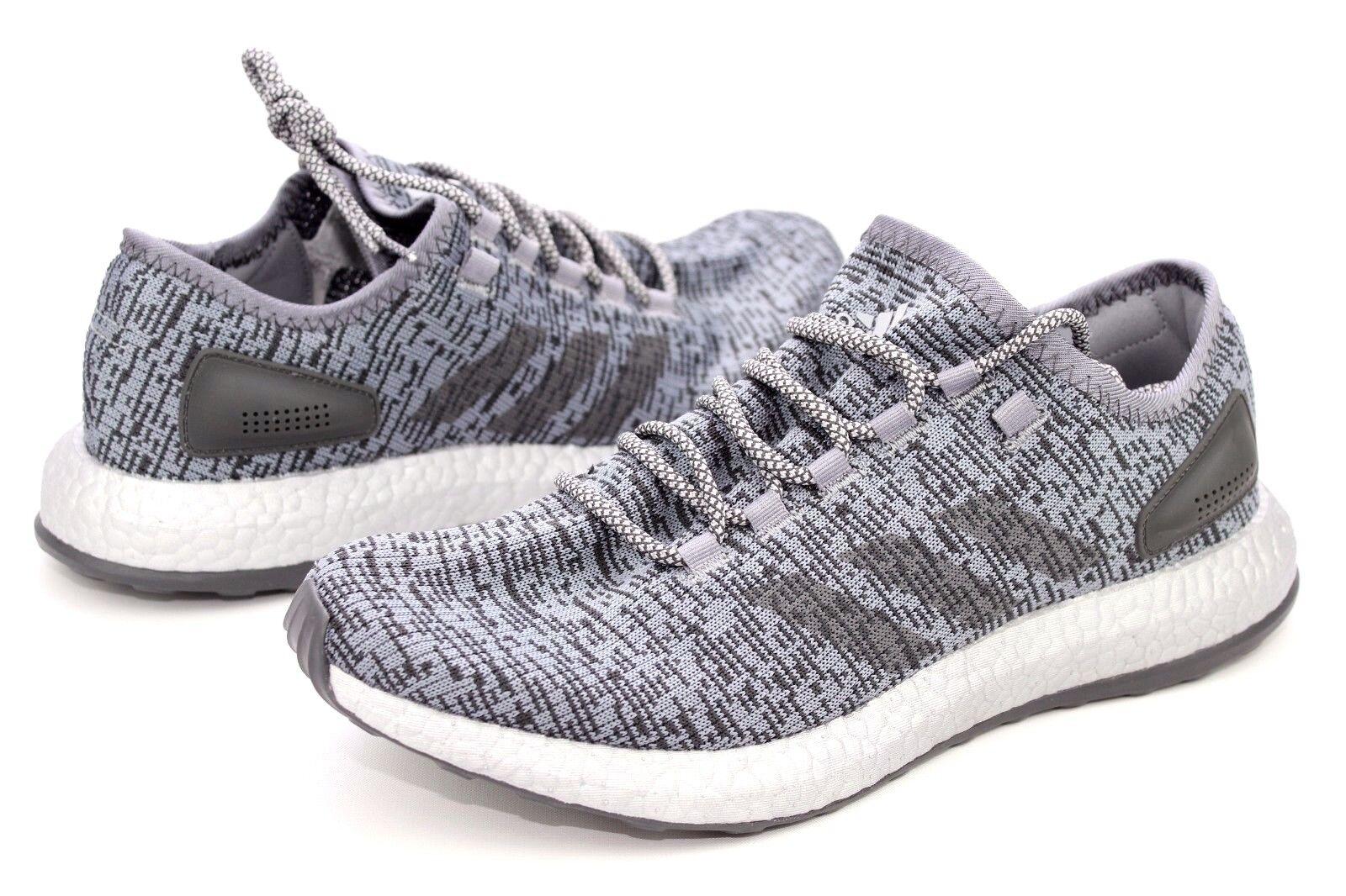 1d652adff Adidas PureBOOST LTD Grey Solid Grey Grey Grey Running Shoes Mens Size 11.5  NIB S80703 57d5f0