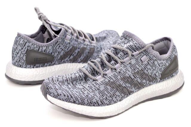 online store 50f12 a38a7 Adidas PureBOOST LTD Grey Solid Grey Running Shoes Mens Size 9.5 NIB S80703