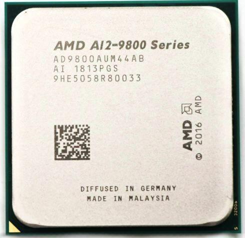 AMD A12-Series A12-9800 A12 9800 3.8 GHz Quad-Core CPU Processor AD9800AUM44AB Socket AM4