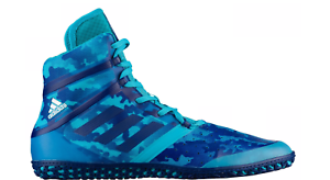 NEW  ADIDAS Impact Wrestling shoes MMA Boxing Turquoise Camo bluee BY1581 d1