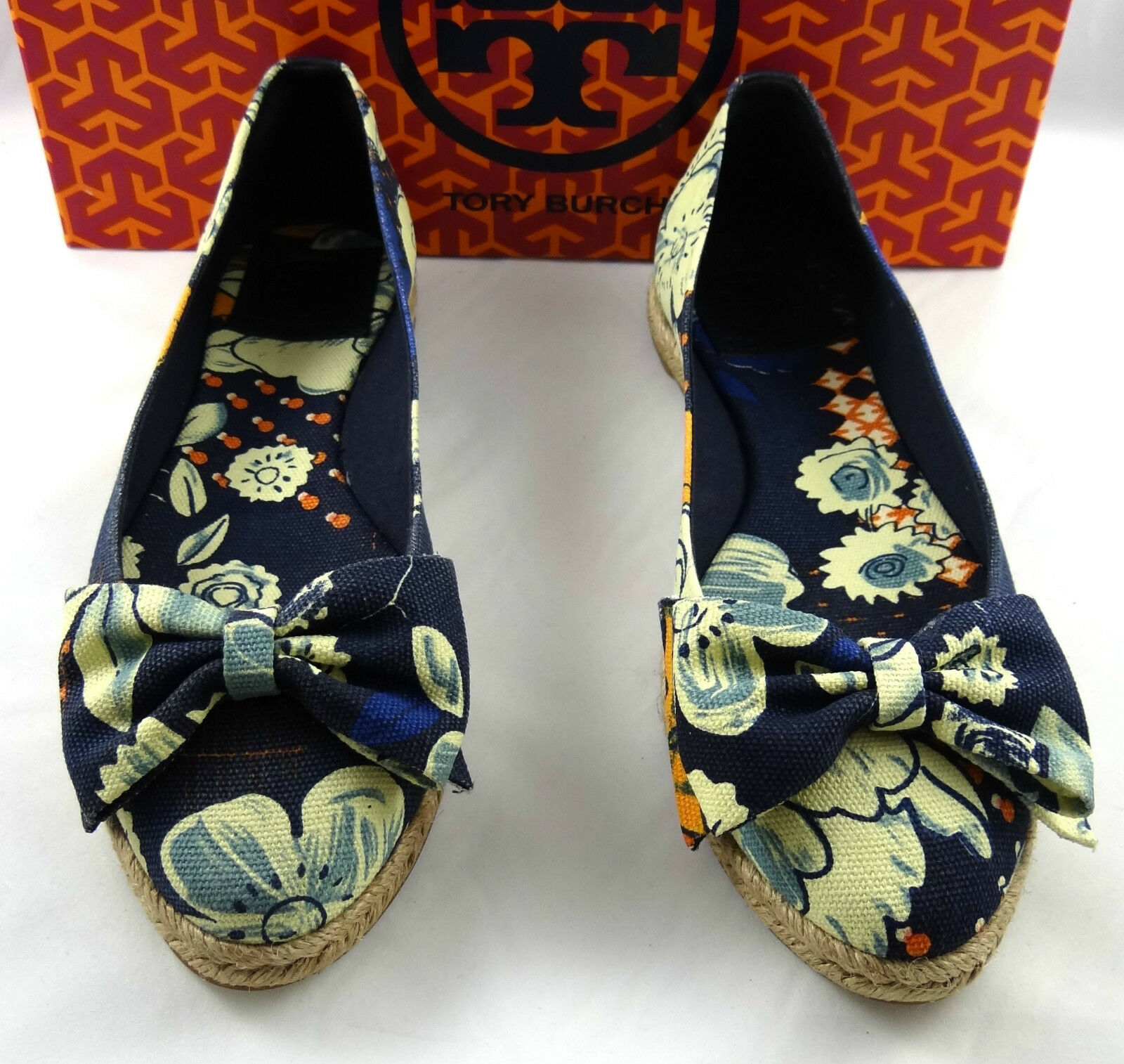 Tory Burch Tamsin Espadrille Slip On Flat shoes 5-11