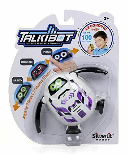 Silverlit Talkibot Robot Voice Changer Design May Vary 88535