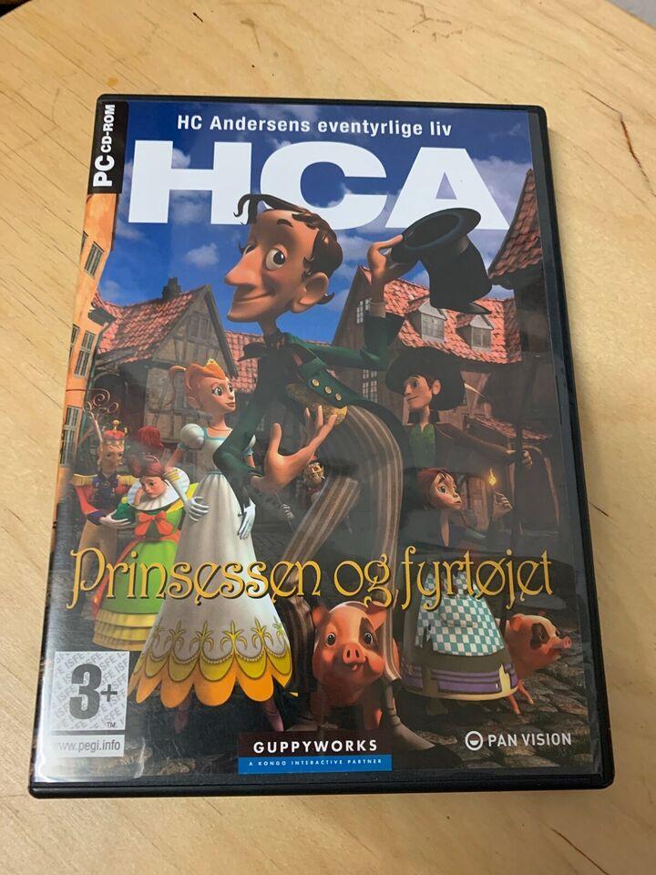 HCA: Prinsessen og Fyrtøjett, til pc, adventure