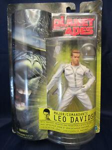 Planet-of-the-Apes-Major-Leo-Davidson-6-034-Action-Figure-2001-Mark-Wahlberg