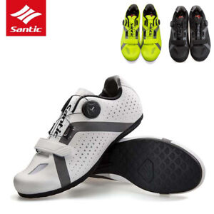 af9645443dc SANTIC Mens Non-locking Power Cycling Shoes Leisure Rotation Buckle ...