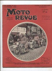 Moto Revue N°675 ; 15 Fevrier 1936 : Le Vélomoteur Terrot En 6 Photos