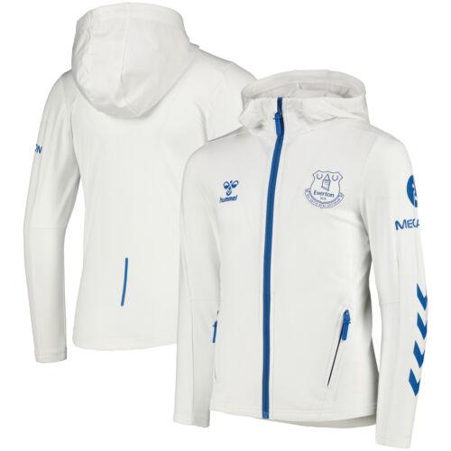 Hummel Kids Everton Home Matchday Walk Out Football Sport Training Jacket