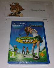 Everybody's Golf PSV New Sealed UK PAL Game Sony PlayStation Vita PS Vita