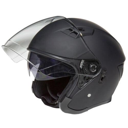 Fulmer 360 Forge Solid Open Face Helmet Matte Black