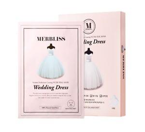 Merbliss-Wedding-Dress-Nude-Seal-Mask-5sheets-Free-Gift-Korean-Cosmetics